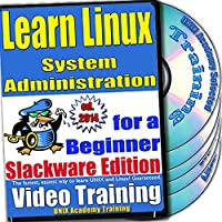 Linuxのシステム管理。初級ビデオトレーニングおよび認定試験、英語でSlackwareのバージョン。 4 -DVDセット