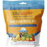 Bluapple One-Year Refill Kit 8 packets for two Bluapples for one year keeps produce fresh longer extends the life of produce!