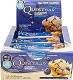 クエストニュートリション(Quest Nutrition), プロテインバー Blueberry Muffin ブルーベリーマフィン 12 Bars [並行輸入品]