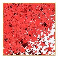 Beistle CN133 Red Stars Confetti 1/2-Ounce [並行輸入品]