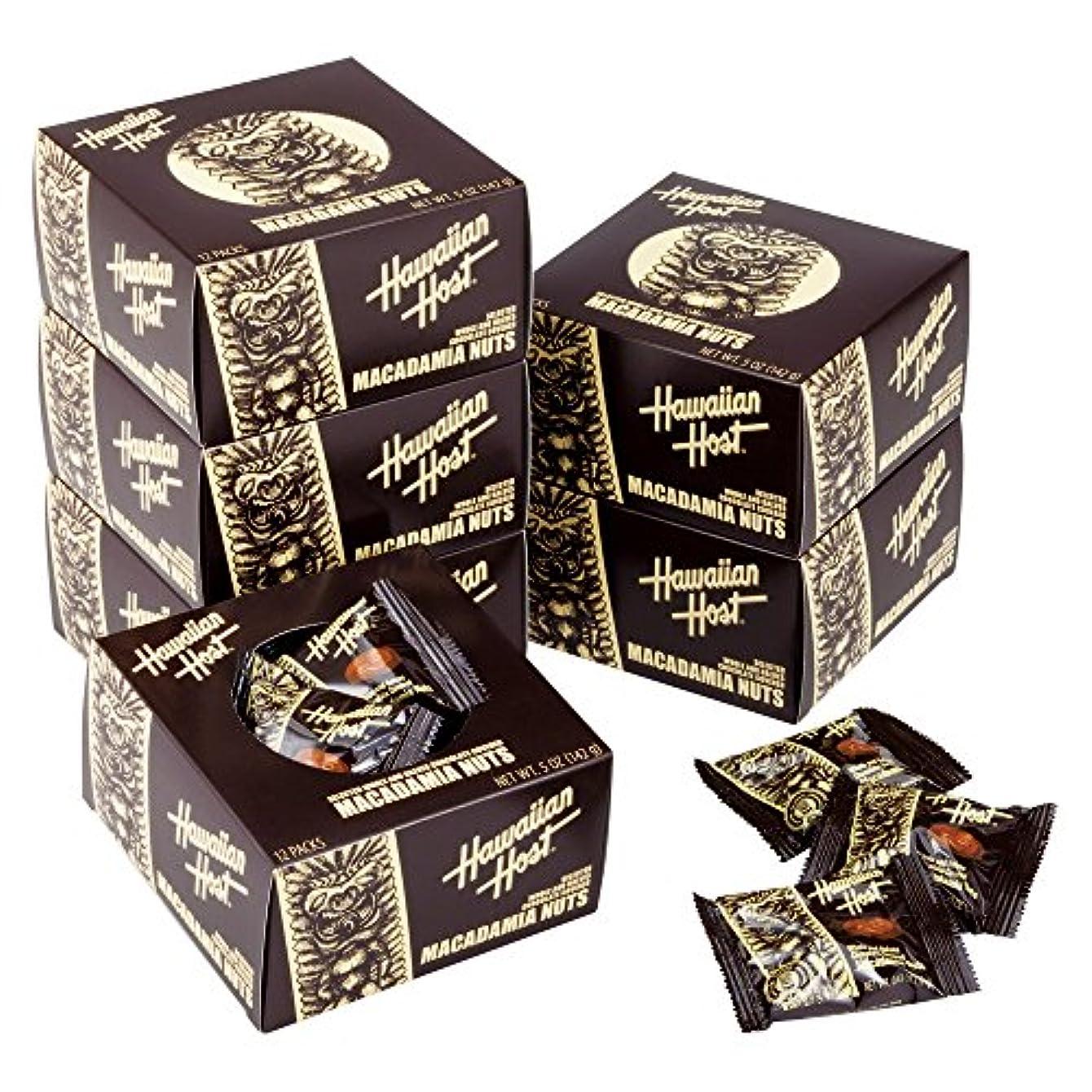 ただ百万ミッションハワイお土産 ハワイアンホースト ミニパック ティキチョコレート 6箱セット 【153515】