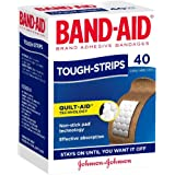 Band-Aid Tough Strips Adhesive Bandages, 40 count, Pack of 40