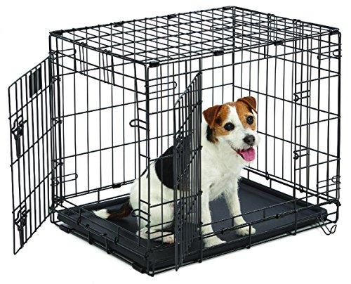 MidWest Life Stages Folding Metal Dog Crate by MidWest Homes for Pets
