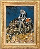 複製絵画 オーヴェールの教会 ゴッホ作 P15号
