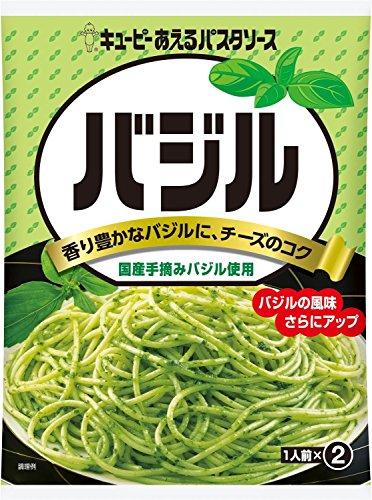 キユーピー あえるパスタソース バジル (23g×2)×6袋