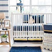 My Baby Sam Desert Sky 3 Piece Crib Bedding Set [並行輸入品]