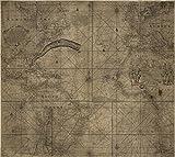 マップ: 1768franklin-folgerチャートのThe Gulf Stream。The Sea Coastからリオデラプラタto Terra del Fuego & c|atlantic ocean|earth|gulf stream|world S