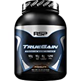 RSP NUTRITION TrueGain - Premium Mass Gainer Whey Protein, BCAAs, Gain Muscle, 6lb Chocolate
