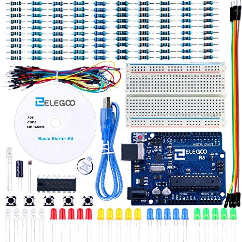ELEGOO 基本部品 初心者スターター 互換キット チュートリアル Arduino用