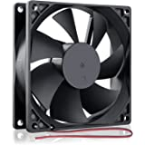 GDSTIME 92mm x 92mm x 25mm 90mm 3.6 Inches 12v Brushless Dc Cooling Fan 2 Pin