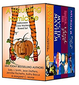 A Haunting Homicide: Halloween Cozy Mystery Boxed Set by [Bacus, Kathy , Smith, Sally J., Steffens, Jean, Fischetto, Jennifer, Morse, Margaret C. ]