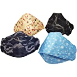 [4Pcs] Wes Care Design NanoMask Reusable | Made in Singapore | UV Clean, Soft & Comfortable, Easy to Breathe, Convenient Pack
