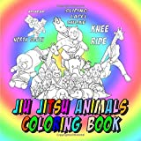 Jiu Jitsu Animals Coloring Book: Cute Animals Gift, Educational and Stress Relieving BJJ Coloring Book for Kids (Martial Arts