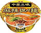 明星中華三昧カップ麻辣担々麺115g×12個