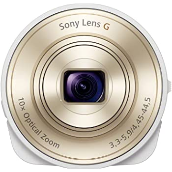 SONY デジタルカメラ Cyber-shot レンズスタイルカメラ QX10 ホワイト DSC-QX10-W