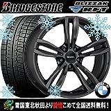 【17インチ】BMW 3シリーズ(F30/F31)用 スタッドレス 225/50R17 ブリヂストン ブリザックRFT ランフラット MAK ルフト(MB) タイヤホイール4本セット 輸入車