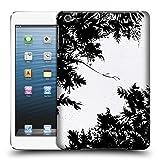 Amazon.co.jpオフィシャル Caitlin Workman スプリング・ナイトスカイ B&W オーガニック ハードバックケース Apple iPad mini 1 / 2 / 3