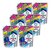 【ケース販売】 アリエール 洗濯洗剤 液体 イオンパワージェル サイエンスプラス 詰め替え 超特大 1.35kg×6個