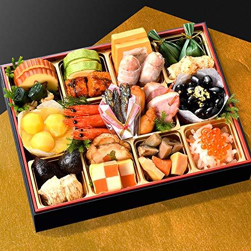 小樽きたいち 海鮮おせち 寿 特別仕様一段重 全20品 (12月28日(金))