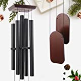 ASTARIN Large Wind Chimes Outdoor Deep Tone, Tuned Amazing Grace Garden Wind Chime Outdoor with 5 Aluminum Big Tubes, Soothin