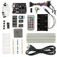 サインスマート Arduinoエントリー 基礎プロジェクトキット 互換 Uno R3 ボード付き