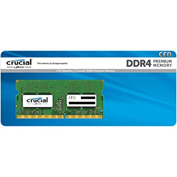 CFD販売 ノートPC用メモリ PC4-19200(DDR4-2400) 16GBx1枚 260pin (無期限保証)(Crucial by Micron) D4N2400CM-16G