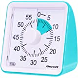 Ainowes Visual Timer, 60-Minute Silent Countdown Timer for Kids and Adults, Time Management Tool for Kitchen, Classroom, Self