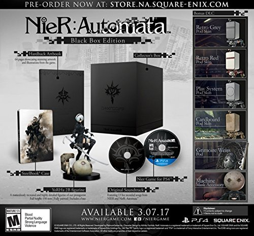 NieR: Automata ニア・オートマタ Black Box Edition【PS4】