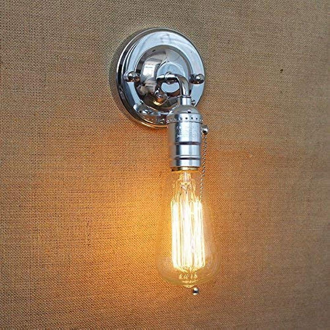 登る慣性確執壁面ライト, ロフトノブスイッチ壁取り付け用燭台ランプミニ通路ベッドバルコニーカフェホームミニ装飾壁ライト取り付け用燭台器具 AI LI WEI