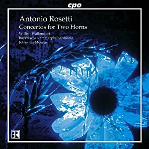 レスレル [ロゼッティ]:2つのホルンと管弦楽のための協奏曲 他 (Rosetti: Concertos for Two Horns)