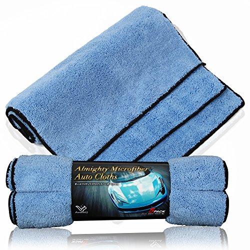 AvaneQ 洗車タオル 超絶 吸水 5枚セット マイクロファイバークロス 磨き...