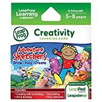 LeapFrog Adventure Sketchers! Draw, Play, Create Learning Game (for LeapPad Tablets and LeapsterGS) [並行輸入品]