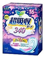 【花王】ロリエ超吸収ガード340 16コ入 ×5個セット