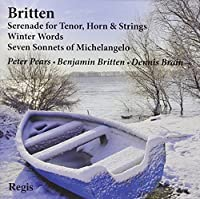Britten Song Cycles by Peter Pears (2010-10-25)
