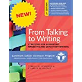 From Talking to Writing: Strategies for Supporting Narrative and Expository Writing