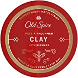 Old Spice Hair Styling Clay for Men, Highest Hold/Matte Finish, 2.22 Oz