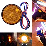 zyurong 円形ユニバーサルLEDリフレクター 高輝度 LEDリフレクター