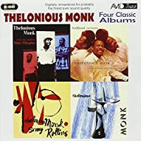 Four Classic Albums: Thelonious Monk Plays The Music Of Duke Ellington / Thelonious Monk & Sonny Rollins / Brilliant Corners / Thelonious Monk by Thelonious Monk (2010-05-11)