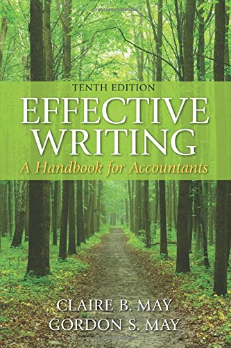 Download Effective Writing: A Handbook for Accountants (10th Edition) 0133579492