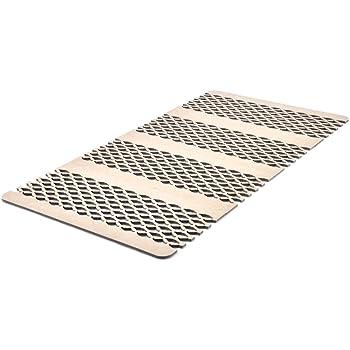 テイジン ベルオアシス使用 すのこ型吸湿マット ダブルインパクトPlus ジョイント 100×200cm TJI-480