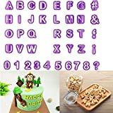 クッキー 抜き 型 アルファベット SOEKAVIA ビスケット 型 数字 記号 セット 40個セット お弁当 DIY 製菓道具