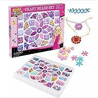 (アスコット) Askotto ビーズ アクセサリーキット 知育玩具 女の子 ビーズ36種類(約1200粒) ワイヤー カラフル紐 セット