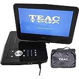 "TEAC 10.1"" Portable DVD Player | Swivel Screen | Carry Bag w Car Adaptor | Earphones INC. | USB, SD, MMC Playback| Plus Remot"