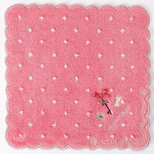 ジルスチュアート(雑貨)(JILLSTUART ) 【20×20cm】ミニタオルハンカチ(レディース)【ピンク/1】
