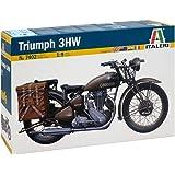 イタレリ 1/9 WW.II イギリス陸軍 軍用バイク トライアンフ 3HW プラモデル IT7402