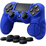 CHINFAI PS4 Controller DualShock4 Skin Grip Anti-Slip Silicone Cover Protector Case for Sony PS4/PS4 Slim/PS4 Pro Controller