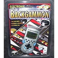 Electronic e-Backgammon Handheld Game by MicroGear by MicroGear [並行輸入品]