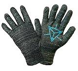 (GLIDER gloves) グライダーグローブ イングレス 公式ライセンス タッチスクリーングローブ スマホ対応手袋 (M, 青(レジスタンス))