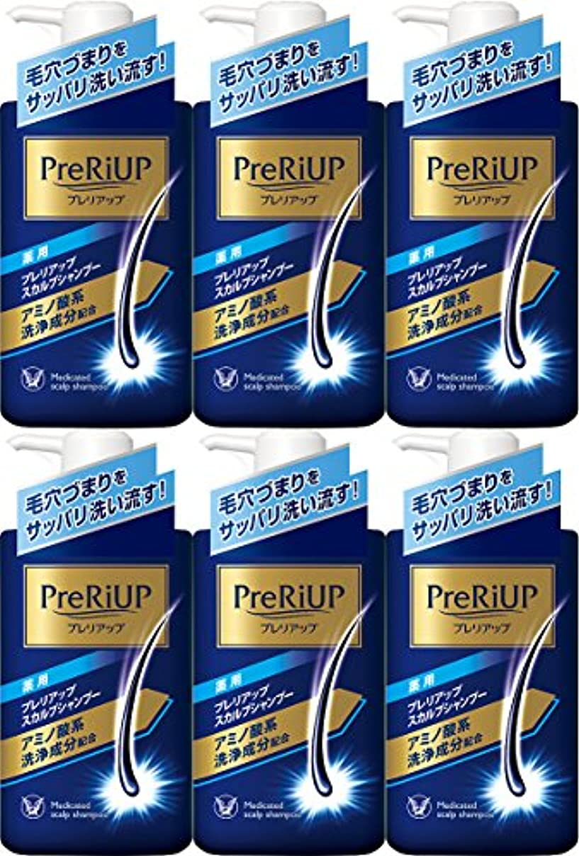 無意味見込み日曜日【6個セット】薬用プレリアップ スカルプシャンプー 400ml