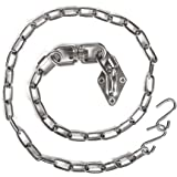 Chihee Hanging Kits Hammock Chair Hardware 440lbs Swing Hooks with 1 Meter/3.28ft Stainless Steel Chain Swivel Buckle Punchin